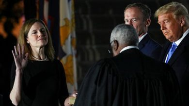 Photo of El Senado de EEUU confirmó a Amy Coney Barrett como nueva jueza de la Corte Suprema