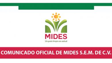Photo of Comunicado oficial MIDES, S.E.M. de C.V