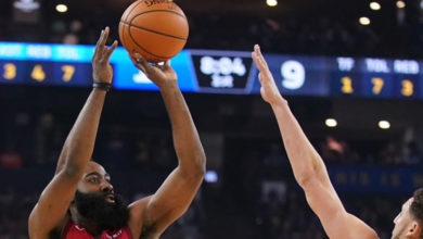 Photo of Triple agónico y récord en la NBA para la victoria de Houston Rockets ante Golden State Warriors