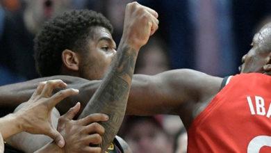 Photo of Escándalo en la NBA: pelea a golpes de puño en la victoria de Cleveland Cavaliers ante Toronto Raptors