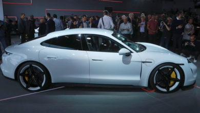 Photo of Porsche presentó su espectacular automóvil eléctrico de 185.000 dólares