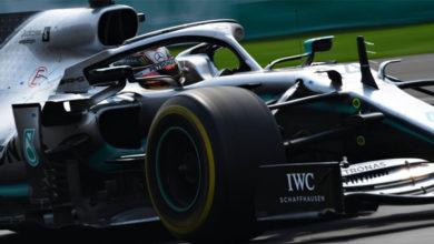 Photo of Exhibición de Lewis Hamilton en el Autódromo Hermanos Rodríguez de México