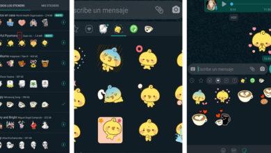 Photo of Llegaron los stickers animados a WhatsApp: cómo descargarlos