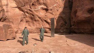 Photo of Un misterioso monolito encontrado en un desierto de Estados Unidos desapareció sin dejar rastro