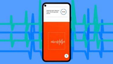 Photo of Google presentó una nueva función que mide la frecuencia cardíaca y respiratoria a través de la cámara del celular