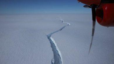 Photo of Un iceberg más grande que la ciudad de Nueva York se desprendió en la Antártida